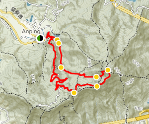 Wutong Mountain from Wutong Village Map