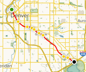 Cherry Creek Trail Map