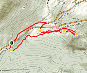 Faråni Sculpted Rverbed Trail Map