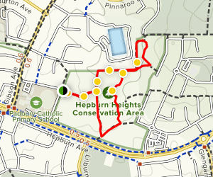 Hepburn Heights Conservation Area Map