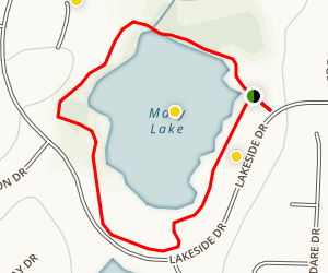 Mary Lake Map