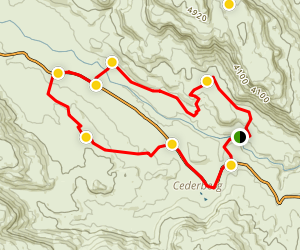 Cederberg Mountain Bike Trail Map