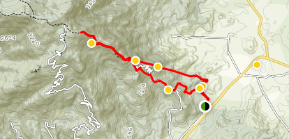 Mount LuoFu Trail Map