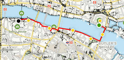 Map Of S England.South Bank Of The Thames Walking Tour London England Alltrails