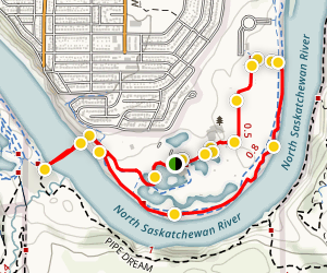 Rundle Park Riverside Trail Map