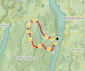 Grizdale Mountain Bike Loop Map