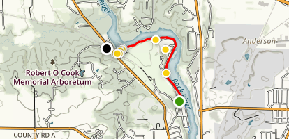 Ice Age Trail: Devil's Staircase Map