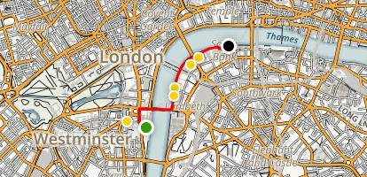 Thames Walking Tour Map