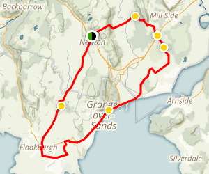 Cartmel Cycle Loop Map