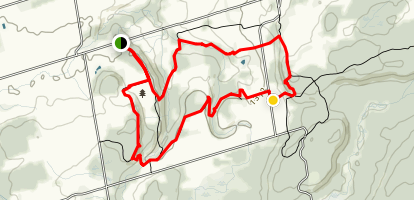 Duncan Caves Trail Map