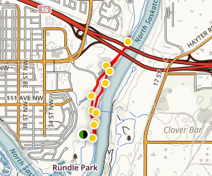 Rundle Park Bridge Loop Trail Map