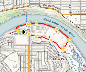 Gold Bar and Capilano Loop Trail Map