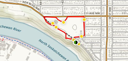 Floden Park Loop Trail Map