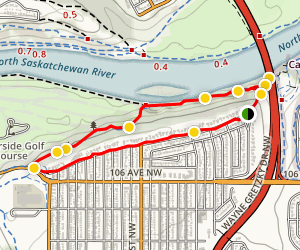 Riverside/Rowland Road Loop Map