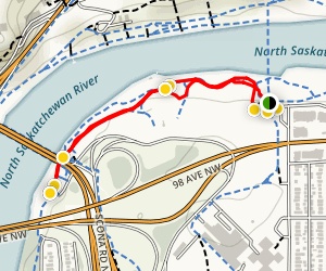 Henrietta Muir Edwards Park Loop Trail Map