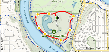 Hawrelak Park Map William Hawrelak Driving Tour   Alberta, Canada | AllTrails