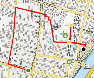 Asakusa Walking Tour Map