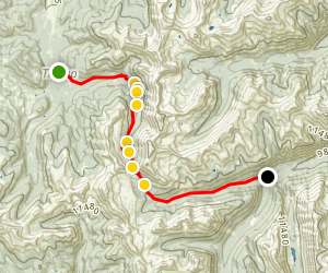 Tincup Pass 4x4 Road Map