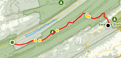 Appalachian Trail: Clark's Creek to Greenpoint ... on map of black hills, map of st. lawrence river, map of colorado river, map of hudson river, map of rocky mountain, map of alps, map of rio grande, map of united states, map of great plains, map of connecticut, map of minnesota, map of great lakes, map of interior plains, map of cascade mountains, map of boston, map of maryland, map of grand canyon, map of tetons, map of shenandoah valley, map of canadian shield,