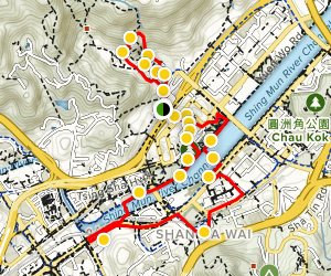 Explore Sha Tin Map