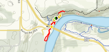 Prospectors Point Trail Map
