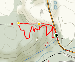 Pemberton Cool Runnings Trail Map