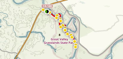 Great Valley Grasslands Exploration Map