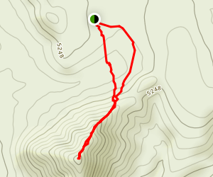 Jack Gunn Maltese Peak Trail Map