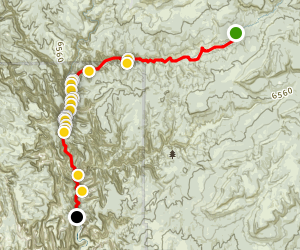The Narrows (Top-Down)  Map
