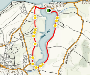 Western Yar Loop Map