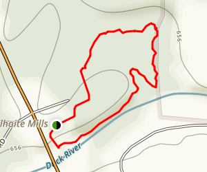 Wilhoite Mill Trail Map