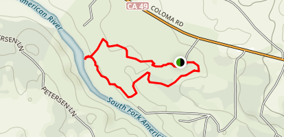 Dave Moore Loop Trail Map