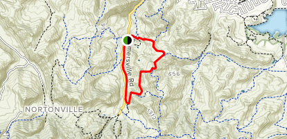 River View Trail and Railroad Bed Trail Loop Map