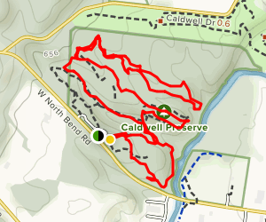 Caldwell Nature Preserve Trail Map
