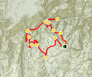 Salmon River ATV Loop Map