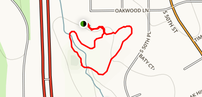 Quail Cove Park Trail Map