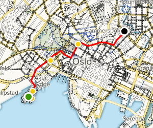 Oslo Culture and Arts Tour Map