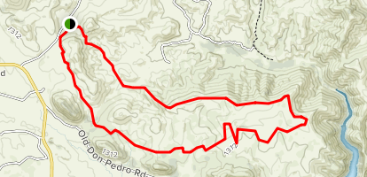 Red Hills Extended Loop Trail Map