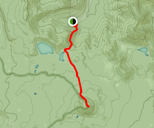Twin Sisters Trail and Tumac Mountain Map
