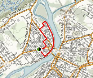 West Pittston Heritage Trail Map