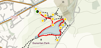 Dunorlan Park - Easy Access Trail Map