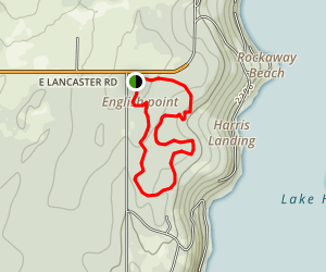 English Point Red Loop Trail Map