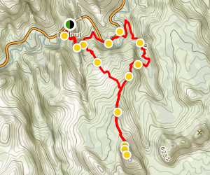 6460 Lost Peak Trail Map