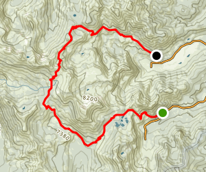 Alpine Meadows to Squaw Valley Map