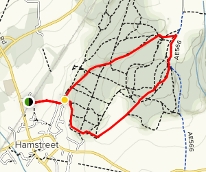Hamstreet National Nature Reserve Loop Map
