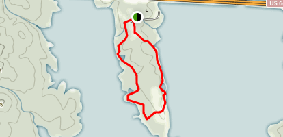 Pond Trail at Seaforth Map