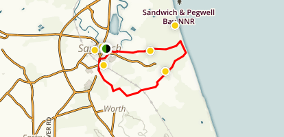 Sandwich Walking Tour Map