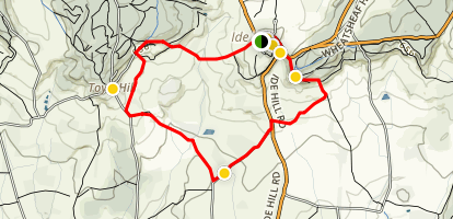 Ide Hill Walking Tour Map