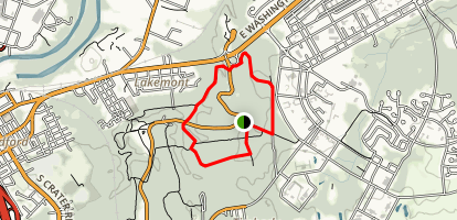 Harrison's Creek Loop Map