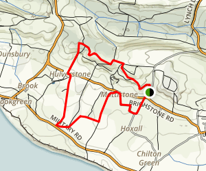 Mottistone Walking Tour Map